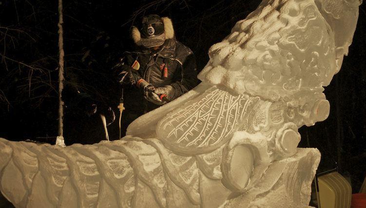 IceAlaska 2013. 1 место в категории Реалистика. Саранча. Фрагмент