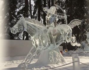 IceAlaska 2013. 3 место в категории Реалистика. Bullseye. Brice Steve и Brice Heather. США