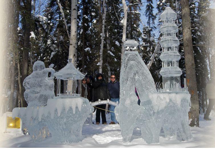 IceAlaska 2013. 4 место в категории Реалистика. Awesome. An Zhe и Zhang Chun He. Китай