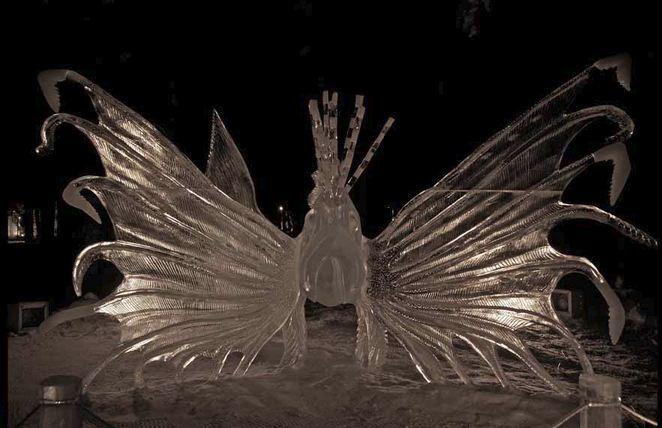 IceAlaska 2013. 5 место в категории Реалистика. Rascasse. Amegee Mario и Moehlin Jeff. Монако и США