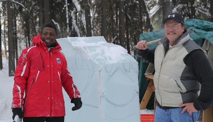 IceAlaska 2013. Amegee Mario и Moehlin Jeff. Монако и США