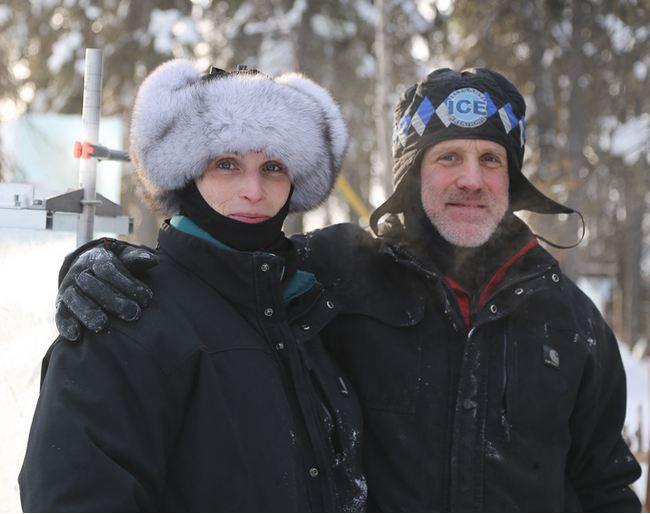 IceAlaska 2013. Brice Steve и Brice Heather. США