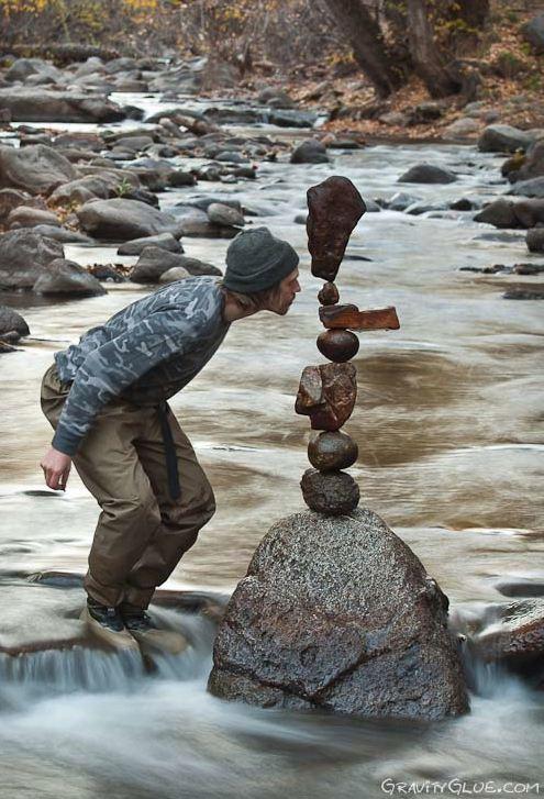 Michael Grab. Балансировка камней. Получилось