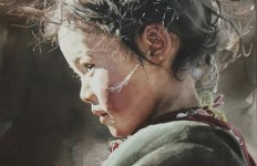 IWS 2012. 1 место. Liu Yun Sheng. West Child. 54х73