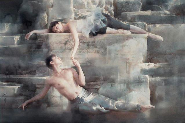 IWS 2012. 2 место. Liu Yi. Inspirations from Ephesus. 136х90