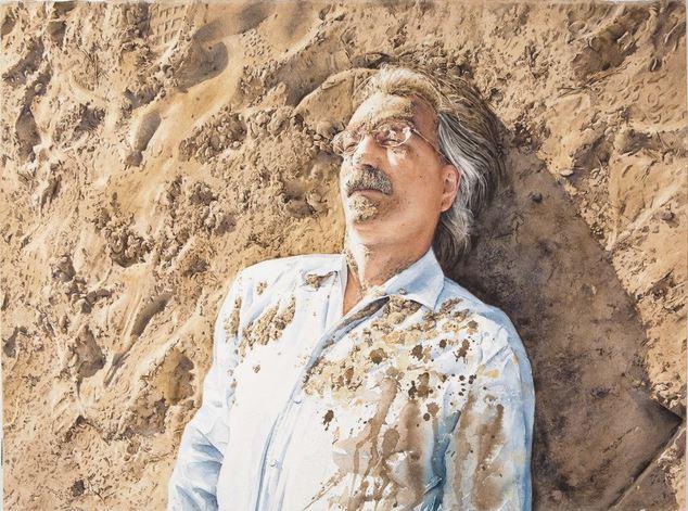 IWS 2012. 9 место. Tejo Van Den Broeck. Sand and more sand. 56×75