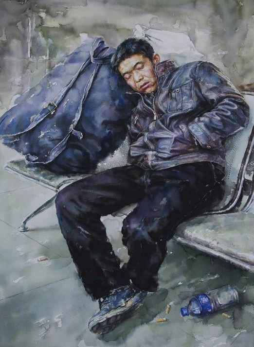 IWS 2012. Zhang Yang-China. Wait for... 90х70