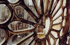 Архитектор-акварелист Paul Dmoch. Rosace, Sagrada Familia, Barcelona, Espagne