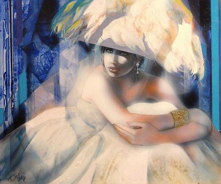 Jean-Baptiste Valadie. Необычные женские портреты. Одинадцатый