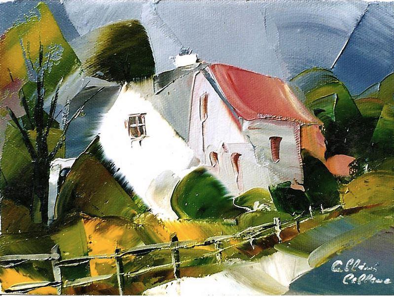 Канадский художник Albini Leblanc. Миниатюры мастихином. Третья