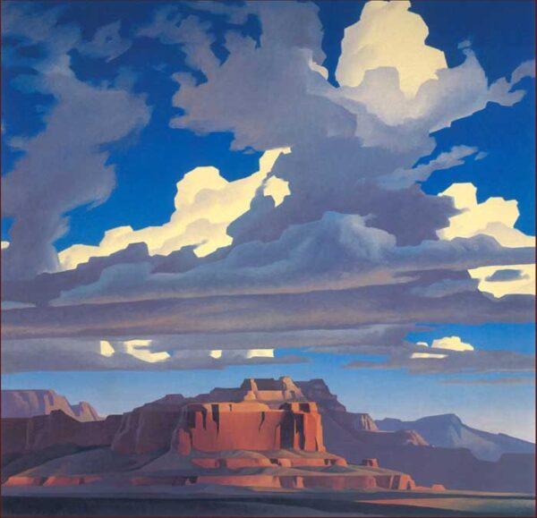 ed mell. painting 11 • Ed Mell. Американский пейзаж