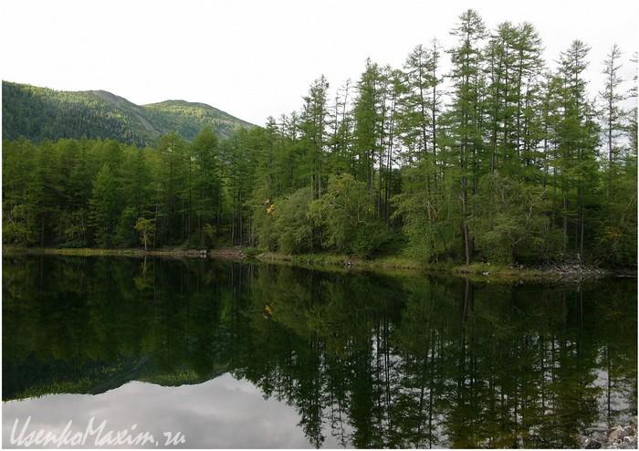 Баджал. Северная часть озера Омот. Исток реки Омот-Макит