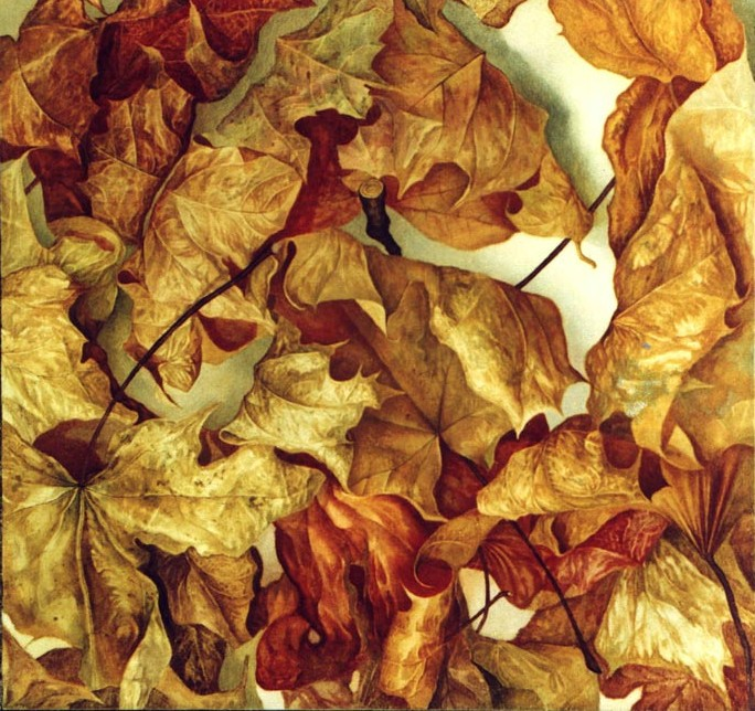 Козлов Петр. Осень. 76х76 холст масло