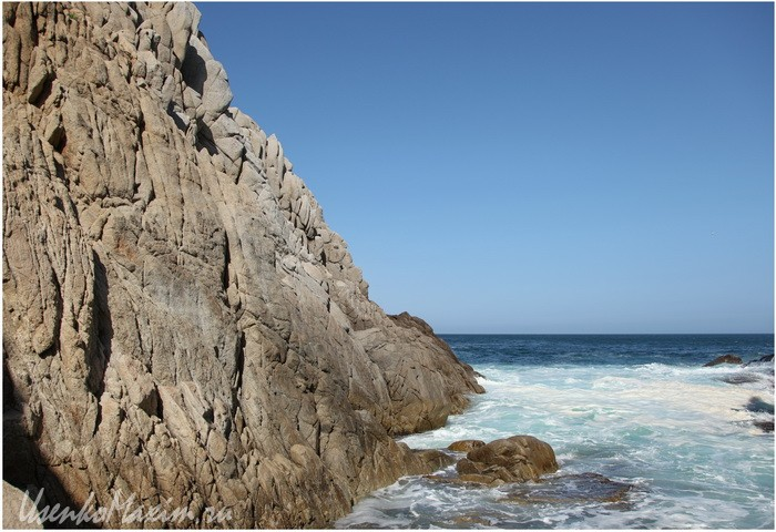 Полуостров Гамова. Для любящих море скалолазов сие заманчиво...