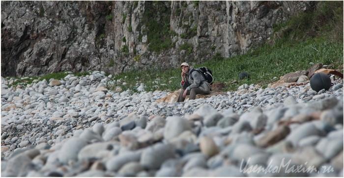 Полуостров Гамова. На каменных пляжах бухты Теляковского