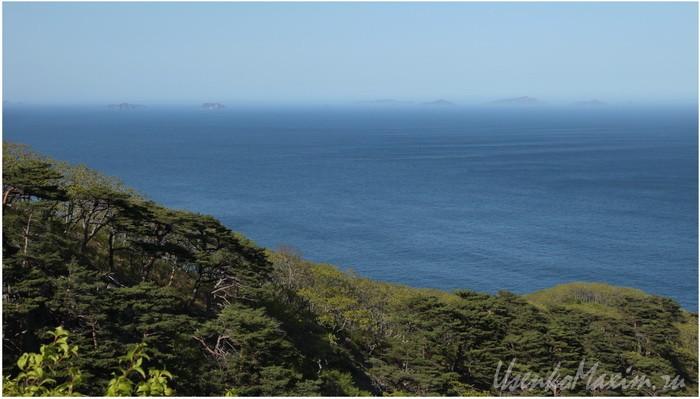 Полуостров Гамова. Японское море. Между мысом Гамова и бухтой Теляковского