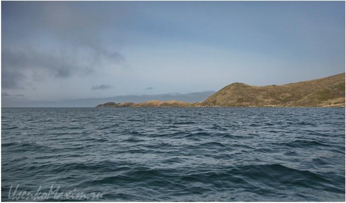 Полуостров Гамова. Японское море. Мыс Таранцева