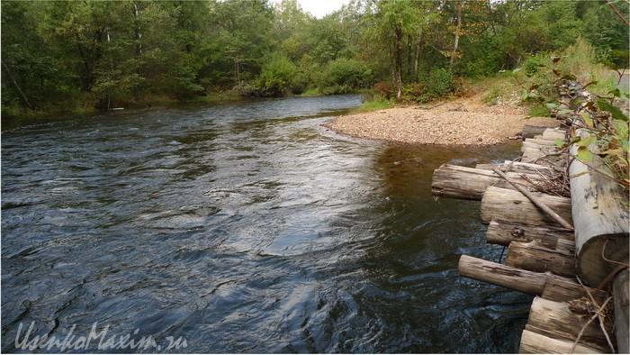 Река Малая Каменушка перед впадением в реку Каменушка