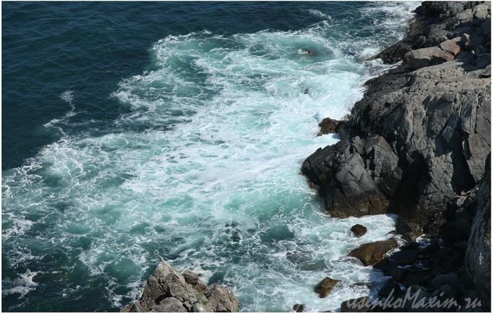Японское море у мыса Гамова