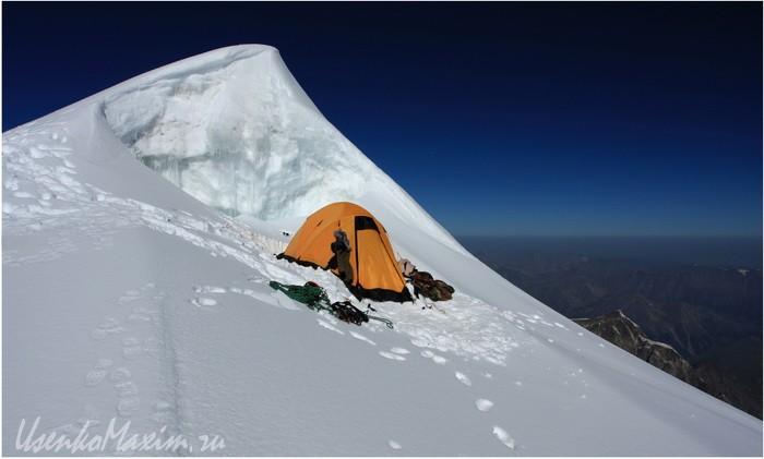 Алтай. Белуха. Лагерь на Короне Алтая