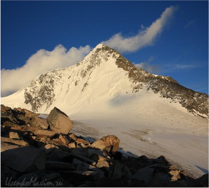 Алтай. Белуха. Лагерь перед восхождением на Корону Алтая