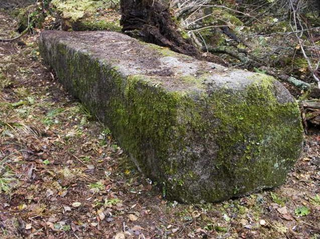 Амурские столбы. Северо-восточная стена. Плита 80х80х400