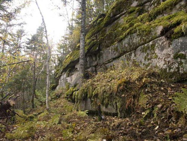 Амурские столбы. Северо-восточная стена