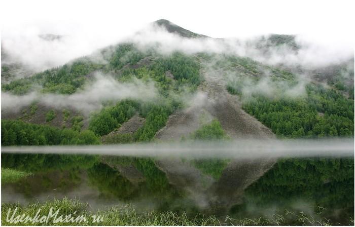Баджал. Озеро Омот. Зазеркалье. Иногда такое бывает несколько раз в день