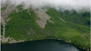 Баджальский хребет. Озеро Омот. Самая возвышенная лиственница