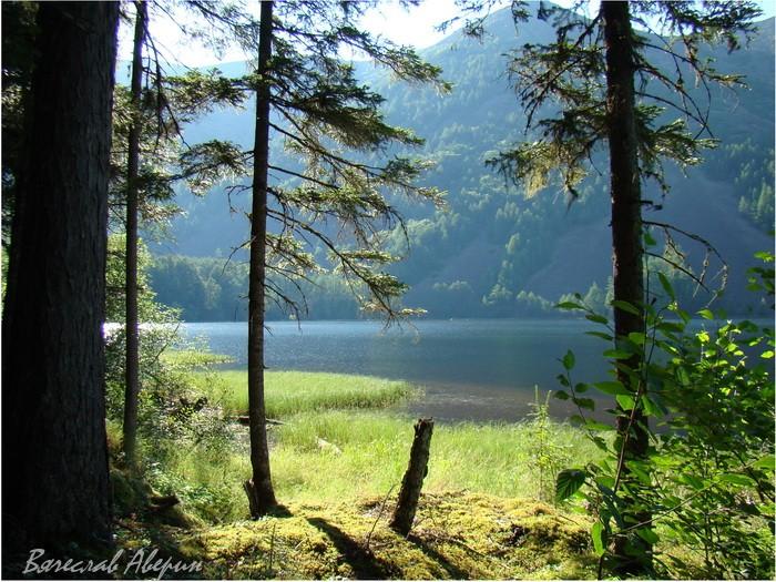 Озеро Омот. Уют солнечного света