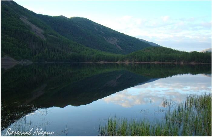 Озеро Омот. Зеркало несколько раз в день