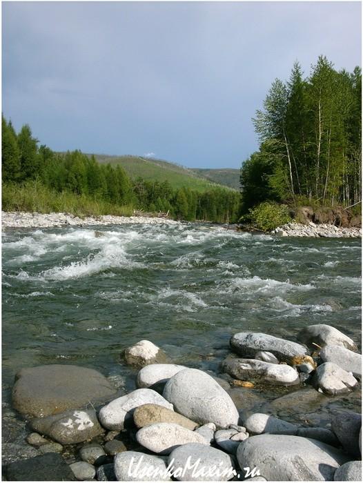 Перекат на реке Герби