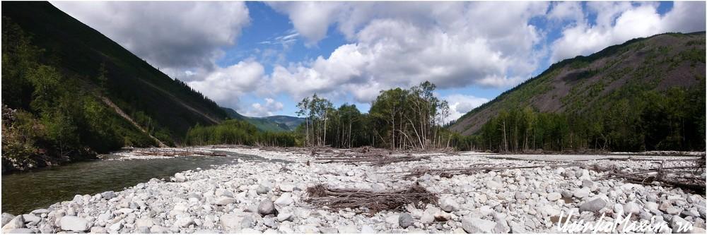 Река Герби напротив притока Имку