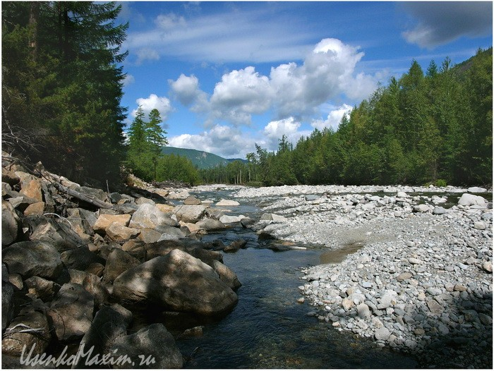 Река Герби напротив реки Имку