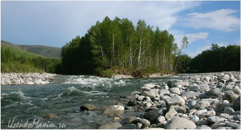 Река Герби у первых сопок
