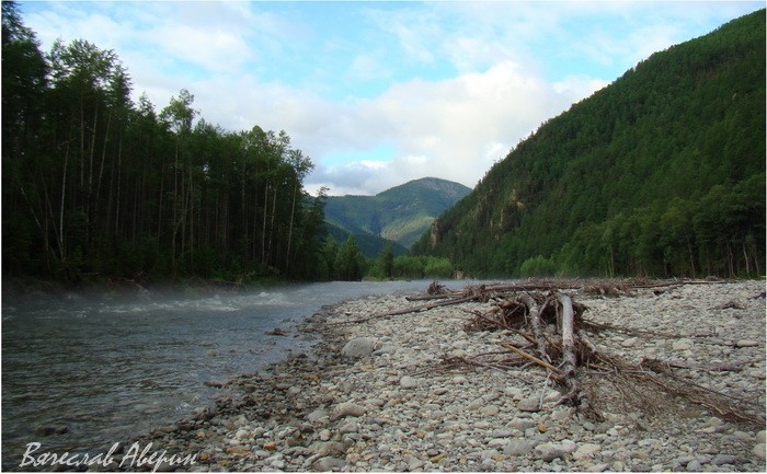 Река Герби. На выходе из гор