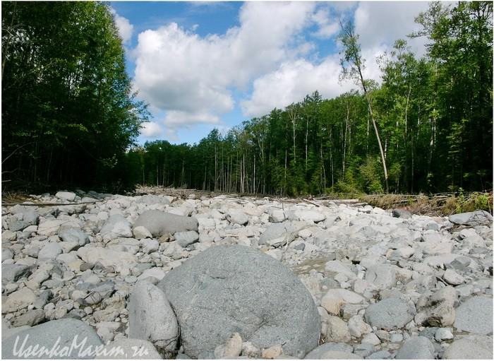 Река Герби. Русло ждущее половодья