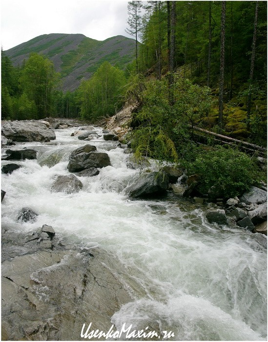Река Омот-Макит. Уже интереснее