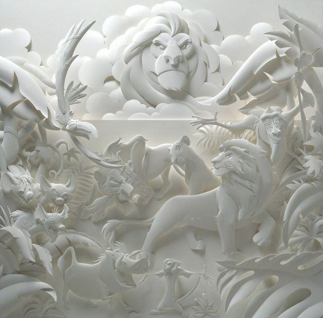 Скульптор Джеф Нишинака. Jeff Nishinaka. Король-лев