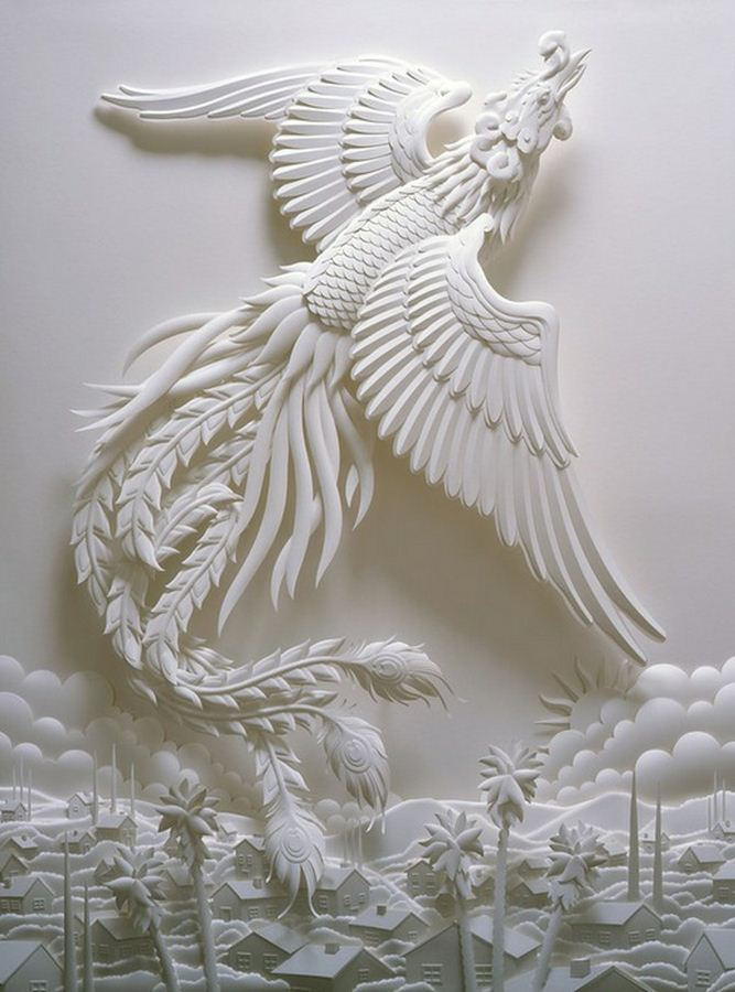 Скульптор Джеф Нишинака. Jeff Nishinaka. Птица-Феникс