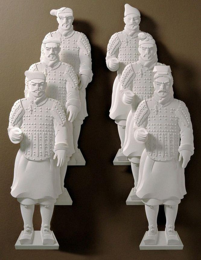 Скульптор Джеф Нишинака. Jeff Nishinaka. Терракотовая армия