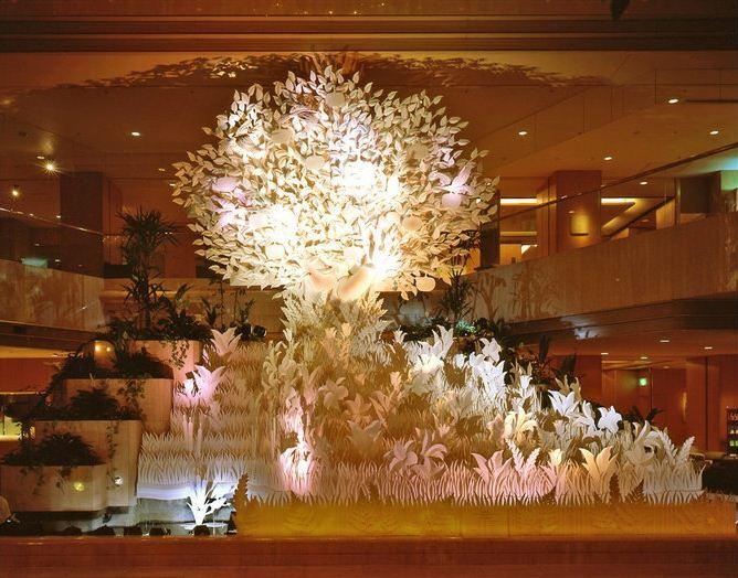 Скульптор Джеф Нишинака. Jeff Nishinaka. В гостинице города Токио
