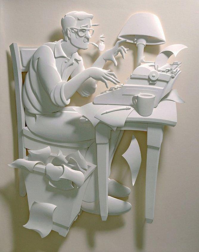 Скульптор Джеф Нишинака. Jeff Nishinaka. В потоке творчества