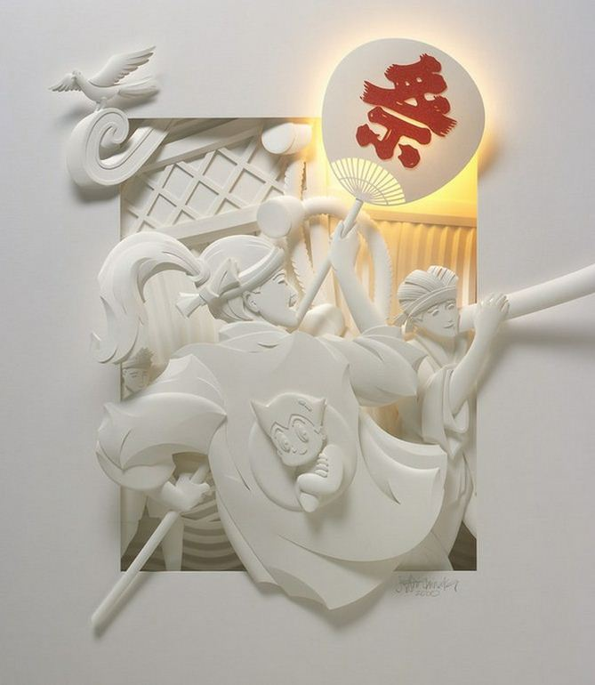 Скульптор Джеф Нишинака. Jeff Nishinaka. Японская тема