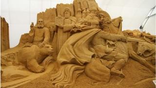 Скульптура из песка Святая Русь. Фото 9