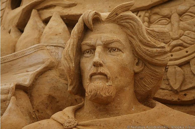 Скульптура из песка Святая Русь. Фото 18