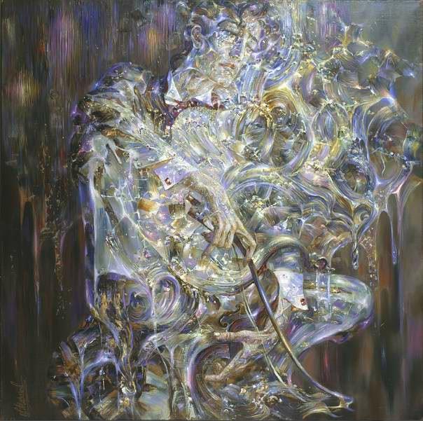 Александр Маранов. Застывшая мелодия. 120х120 холст масло