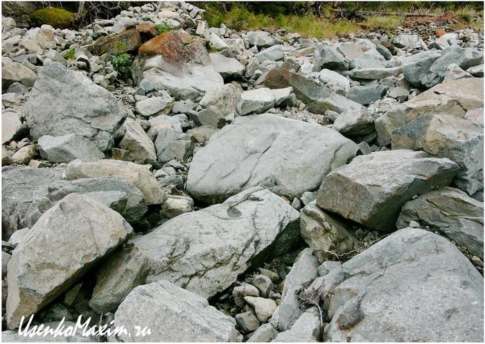 Баджальский хребет. Фрагмент оранжевого пути в его середине