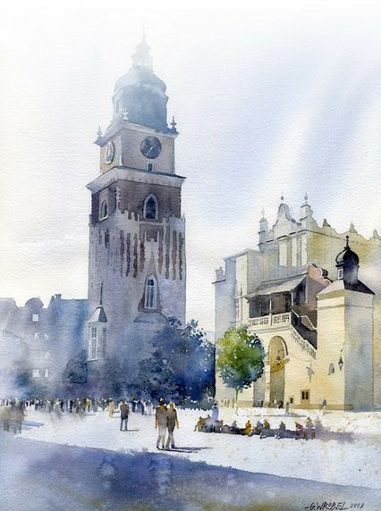 Akvarel-trinadtsataya.-Hudozhnik-Grzegorz-Wrobel