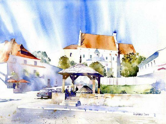Akvarel-vosmaya.-Hudozhnik-Grzegorz-Wrobel